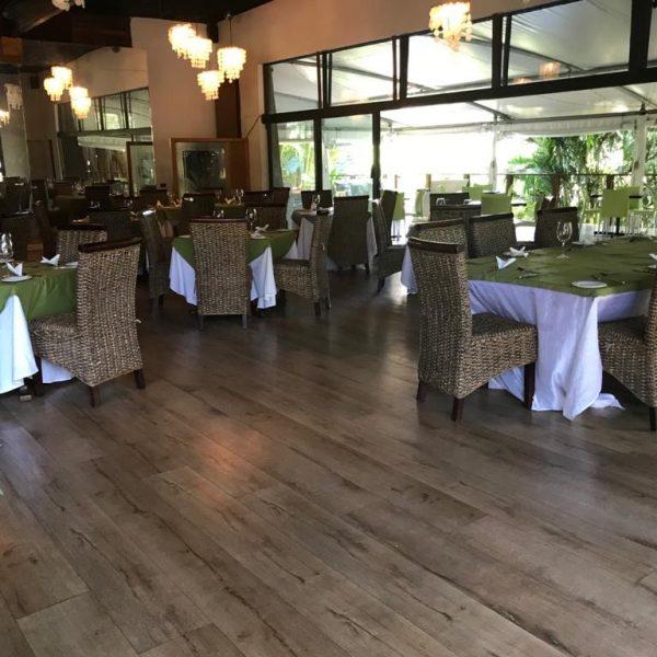 zinkwazi lagoon lodge raffia restaurant